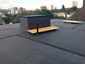 Completed EPDM roof