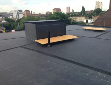 Completed EPDM roof in Huddersfield
