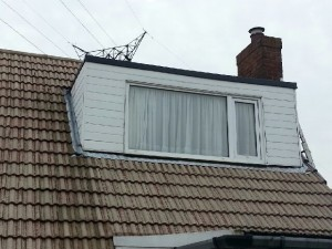 Older window dormer on roof