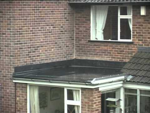 Flat Rubber Roof Sheffield