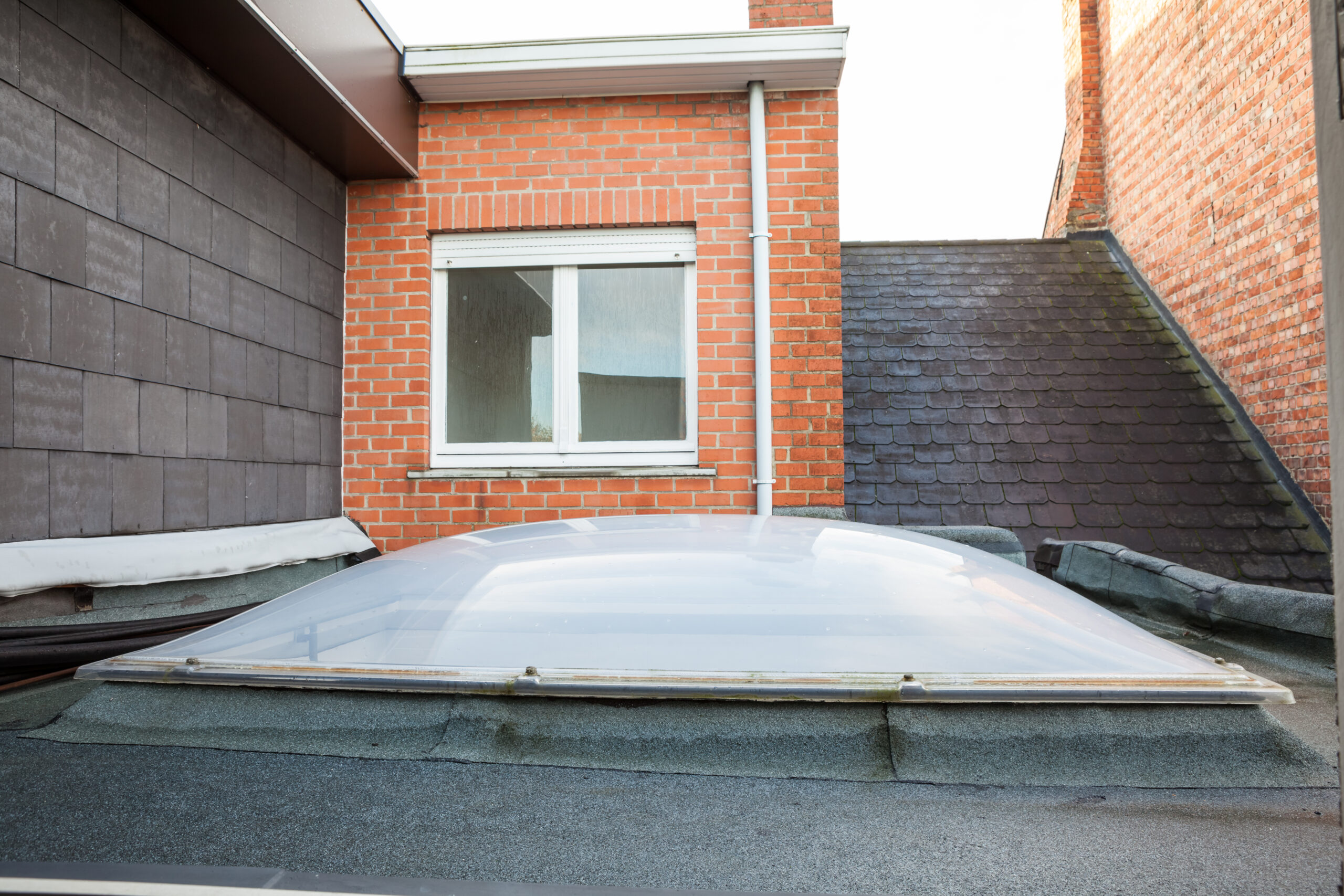 Flat-roof-extension